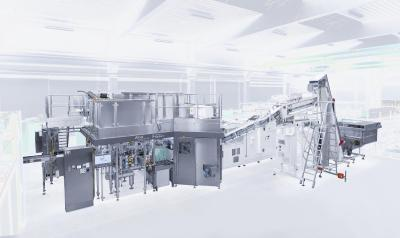 KHS FormFill in final acceptance: technology combines stretch blow molding and filling unit