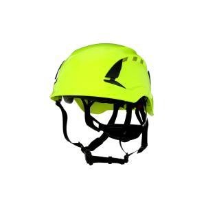 Der 3M SecureFit Schutzhelm X5000 eignet sich sowohl zum Klettern als auch zum Arbeiten am Boden, entsprechend der Normen EN 397 und EN 12492 / Foto: 3M