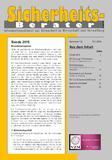 """Die Branchenprognose """"Trends 2015"""" steht online auf: www.sicherheits-berater.de/leseprobe"""