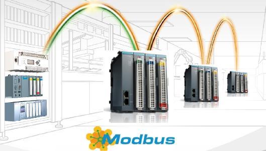 Beispiel einer Anwendung Remote-E/A-System via Modbus-TCP