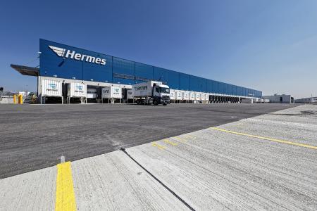 Hermes Logistik Center in Bad Rappenau