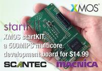 XMOS startKIT, a 500MIPS multicore development board for $14.99