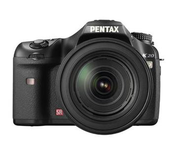 PENTAX K20D: 14,6 Megapixel CMOS-Sensor und integrierte Shake Reduction