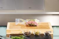 Vakuumiertes Fleisch für das Sous Vide Garen