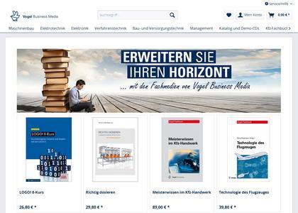 Der neue Fachbuch-Shop von Vogel Business Media bietet ein umfangreiches Fachbuchprogramm für Anwender in der Praxis