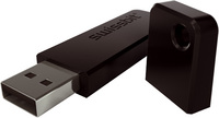 SWISSMEMORY™ USB pitchBLACK – Der Rennwagen unter den USB-Sticks