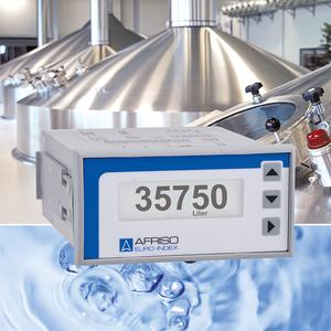 The AFRISO DA 10/12/14 digital display units are ideal for smaller-scale measuring and control tasks in level measurement applications. (Photograph: AFRISO)