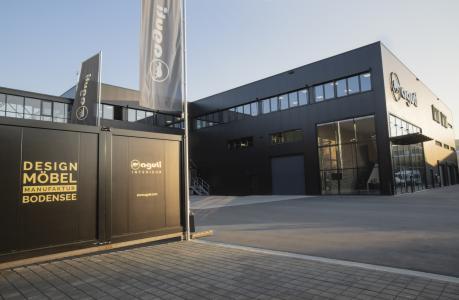 Gebäudeanbau Logistikzentrum mit DesignStore