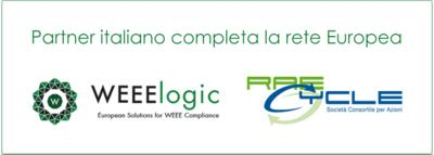 Nuovo Partner per WEEElogic: RAEcycle, Italia