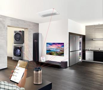 LG weist mit seiner Lösung für ein intelligentes Ökosystem den Weg für das Smart Home der Zukunft