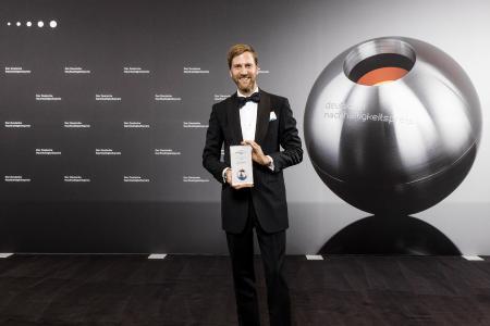 """""""Die Platzierung unter den TOP 3 des Deutschen Nachhaltigkeitspreises ist für uns als Familienunternehmen eine große Ehre"""", so Dr. Ralf Murjahn, CEO der DAW SE."""