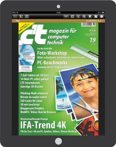Computermagazin c't testet Wirkung digitaler Werbemittel