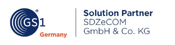 SDZeCOM ist GS1 Germany Solution Partner