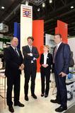 v.l. Jürgen Schneider (Hessen Trade & Invest), Dr. Arndt Freiherr Freytag von Loringhoven (Deutscher Botschafter in Tschechien), Marina Schmid (IHK Offenbach), Axel Limberg (DTIHK-Präsident)