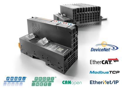 Weidmüller u-remote: Neue Feldbuskoppler DeviceNet und CANopen bieten individuelle Systemanpassung. Beide ergänzen das Feldbuskoppler Portfolio für Profibus, Profinet, EtherCat, Modbus IDA und EtherNet/IP