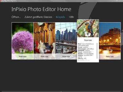 Bildoptimierung per Klick mit Inpixio Photo Editor Home