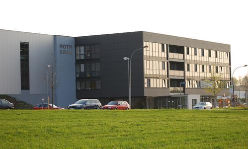 Hauptquartier der Roth & Rau AG in Hohenstein-Ernstthal