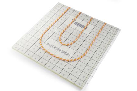 Die innovativen RAUTHERM SPEED silent Systemplatten vereinen die Vorteile der Kletttechnologie mit den hervorragenden Materialeigenschaften von Mineralwolle. (Bild: REHAU)