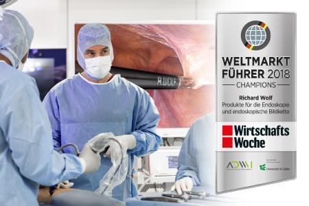 """Richard Wolf erhält Auszeichnung """"Weltmarktführer 2018"""""""