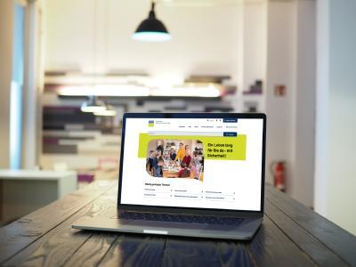Webauftritt der Deutschen Rentenversicherung im neuen Gewand