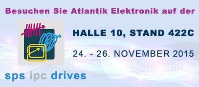 Atlantik Elektronik @ SPS IPC DRIVES