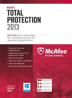 Bietet Rundumschutz im Internet: McAfee Total Protection 2013