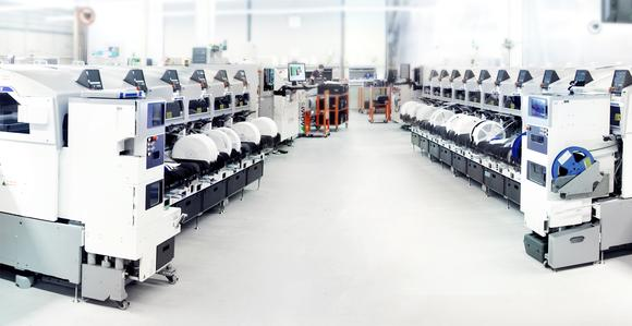 Smart Electronic Factory im Hause Limtronik