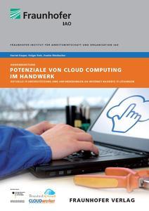 Fraunhofer Studie zum Einsatz von Cloud-Software im Handwerk (Bildquelle: Fraunhofer IAO)