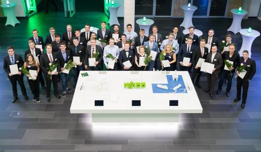 Die Preisträger der WAGO Stiftung in Minden