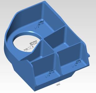 PMI-Daten (Produkt- und Fertigungsinformationen) werden nahtlos übertragen / Quelle: OPEN MIND