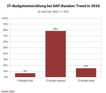 IT-Budget Tendenz 2010
