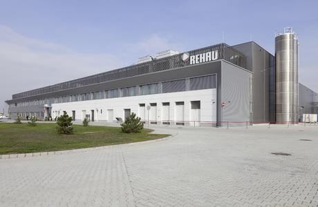 New automotive location in Györ, Hungary. REHAU has invested more than 50 million Euros into the new plant building measuring 24,000 square metres