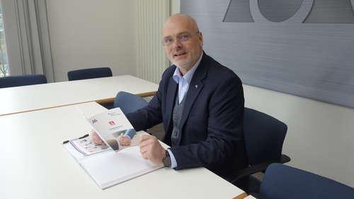 Stephan Lohmann, Geschäftsführer des Fachverbandes Metall NW Verwendung in Zusammenhang mit der Berichterstattung erlaubt