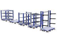 Das AGV eQart und modulare Lean-Manufacturing-Lösungen – FlexQube mit diesen Produkten im deutschsprachigen Raum zu etablieren, ist das Ziel von Leif Jacobsen, Marketing & Sales Manager, FlexQube GmbH / Bildquelle: FlexQube