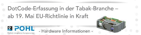 DotCode-Erfassung in der Tabak-Branche – ab 19. Mai wird es ernst
