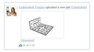 Erfolgreiches 3D CAD Downloadportal PARTcommunity wird um neue 3D Printing und 3D Model Sharing Funktion PARTcloud erweitert