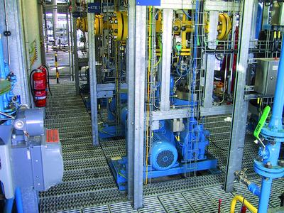 Metal diaphragm compressors from sera in petrochemical pilot installations in Bintulu, Malaysia