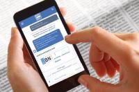 E-Government interaktiv: Der GovBot beantwortet automatisiert Bürgeranfragen und wird damit zum praktischen Helfer für verschiedene Bürgeranliegen / Quelle: publicplan GmbH