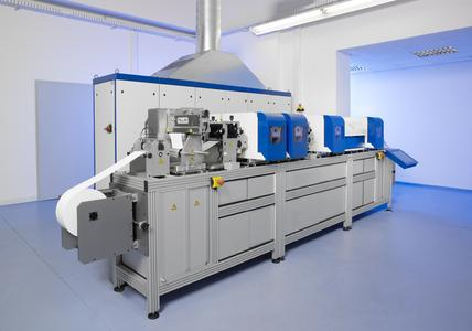 Deutsche Mechatronics combines its expertise on all the processes connected with the print unit in a new printing press, which it will be presenting for the first time at DRUPA 2008.