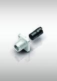 New Rectangular Flange Connectors with Latching, Multi-Position A-Coding