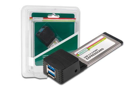 USB 3.0, 2-Port, ExpressCard Add-On Karte, DS-31220