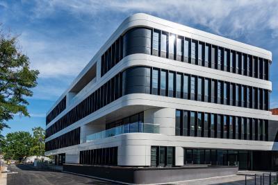 Im neuen Nationalen Centrum für Tumorerkrankungen Dresden wurde ein LW MUSEUMS TERRAZZO verlegt (© Uniklinikum Dresden/Marc Eisele)