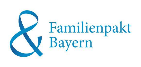 BU 1: Logo des Familienpakts Bayern.