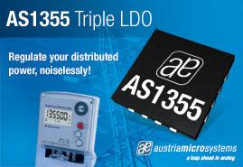 AS1355 triple LDO