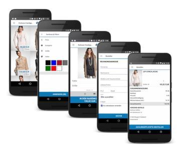 Arvato-App verbindet Online- und Offline-Shoppingerlebnis innerhalb eines Monats