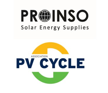 PROINSO becomes  PV CYCLE point for the collection and recycling of modules in Europe