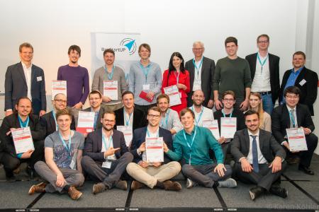 Sieger Münchener Businessplan Wettbewerb 2017 Phase 1 im HVB Tower