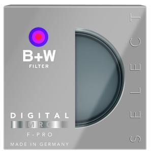 The new B+W SELECT filter series encompasses all B+W filters that require intensive consulting for creative effects and special purposes.
