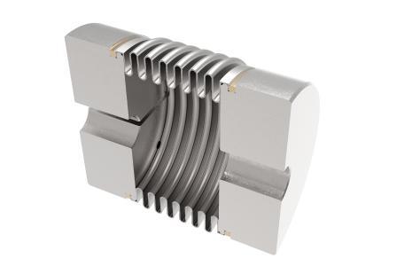 Metallbalgkupplung KM Fügeverfahren