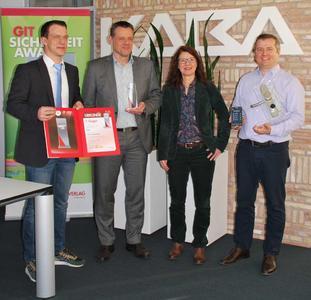 Preisverleihung GIT Award 2016 an Kaba in Dreieich